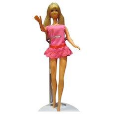 Vintage original Twist N Turn PJ doll in outfit nice pretty Barbie's friend