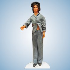 Mod hair Ken in vintage Airline outfit Barbie doll friend
