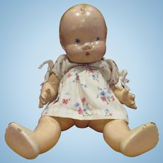 "1937 original all composition Harriet Flanders Little Cherub doll 12"""
