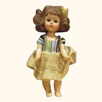 "Ginny friend doll 1950 walker in original dress 8"" PAM Virga Gigi, Ginger"