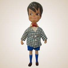 """Dolly Darling 1965 Hasbro miniature doll 4.5"""" kiddle era JOHn and his pets!"""