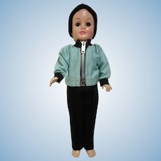 Vintage Vogue Jeff doll in tagged outfit for winter!