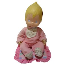 """1977 Baby Betsey Clark doll by Hallmark absolutely adorable 12"""" in sleeper"""