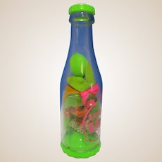 Luscious Lime Mattel Liddle Kiddle KOLA soda pop doll in bottle nice 1960's