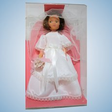 Miss Amanda Jane Bride doll RARE made in England Mint in original case