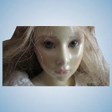 Virginia by Brigitte Starezewski Deval #24 of 250 Wax over ceramic artist doll Germany