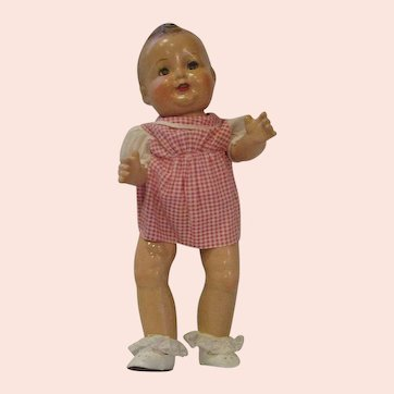 BABY SANDY doll composition doll 1930's Child TV star