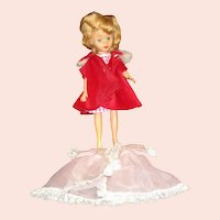 Original Little Miss Ginger Cosmopolitan fashion doll with clothes 1950's