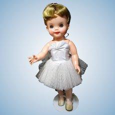 "1959 Effanbee Patsy Ann Ballerina all original excellent in partial original box 15"""