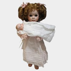Bessie and her Bye Lo Baby Wendy Lawton artist doll MIB Limited edition COA 1995