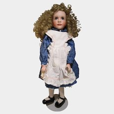 Through The Looking Glass Wendy Lawton Alice in Wonderland doll MIB COA #55