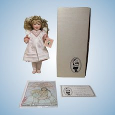 Laughing Allegra Doll by Wendy Lawton MIB with COA jointed 14""