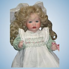 Edith With Golden Hair The Children's Hour doll by Wendy Lawton MIB # 12/500
