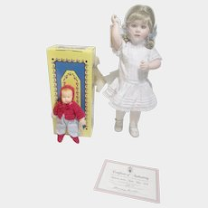 Katherine and Her Kathe Kruse doll 1996 Wendy Lawton limited edition MIB