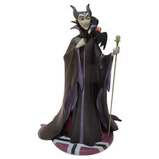 WDCC Disney Evil Enchantress figure in box with COA Sleeping Beauty