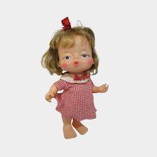 All original IDEAL 1967 RARE doll Little Pucker kissy