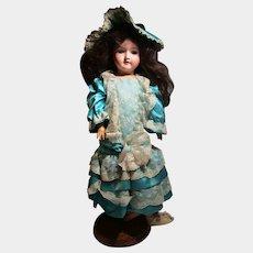 "25"" tall Antique doll Germany Handwerck 7-1/2"