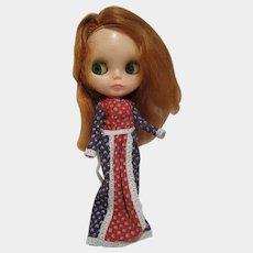 1972 Vintage Kenner Blythe doll Red hair works no splits !