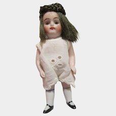 "Fabulous little 4-1/2"" Kestner all bisque doll 208 Germany"