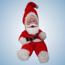 "16"" Original Rushton Company Plush rubber Face Santa Claus doll"