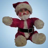 Old Rubber Face Santa Claus doll
