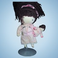 Joan Walsh Anglund Friend doll with little doll 1969