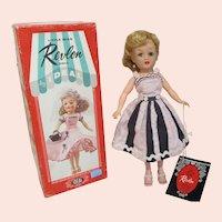 Little Miss Revlon doll blonde in original box by IDEAL