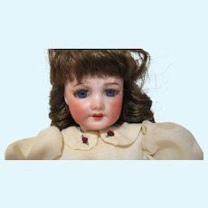 "11"" Antique early 1900 bisque head automata key wind walker doll SFBJ Paris"