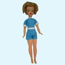 Original Honey blonde Tammy doll by IDEAL in original fashion. Wild hair