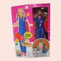 Vintage 1970's Bionic Woman doll MIP Jaime Sommers Lindsay Wagner