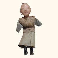 "Vintage 5.5"" Go Fun miniature doll."