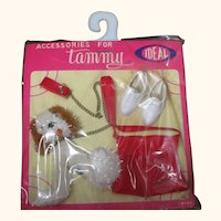 IDEAL Tammy doll accessory pack vintage RARE puppy dog set