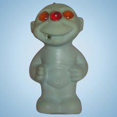 1960s Horsman doll Loonie Lite light up smoking monster working RARE troll toy