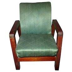 Mod mid century salesman sample miniature arm chair