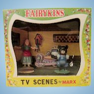 Miniature in original box MARK fairy-kins Goldilocks