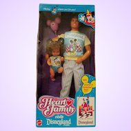 The Heart Family Disneyland doll set 1980's