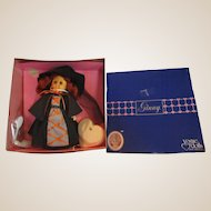 Vintage Ginny Witch doll Halloween adorable in original box with accessories Vogue doll 1986