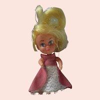 1960's Storykins Cinderella doll in original dress liddle kiddle friend mail in premium