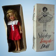Shirley temple in original box IDEAL vinyl 1957 orig dress