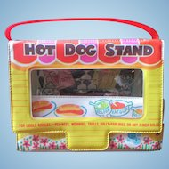 Liddle Kiddle Mattel 1966 HOT DOG STAND carry case