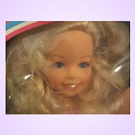 """1984 Getting Fancy Kimberly doll 16"""" by TOMY with box"""