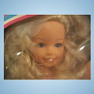 "1984 Getting Fancy Kimberly doll 16"" by TOMY with box"