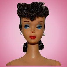 Vintage Brunette #4 Ponytail Barbie Doll