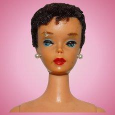 Vintage Display Brunette #4 Ponytail Barbie Doll
