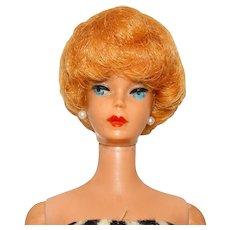 Vintage Blonde 1961 Bubblecut Barbie Doll