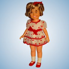 """Ideal 1972 Shirley Temple 16"""" Doll"""