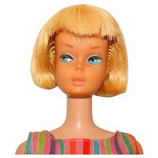 Vintage Blonde American Girl Barbie Doll