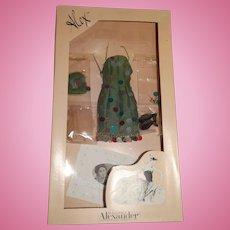"Madame Alexander 16"" Alex Fairchild Confetti Outfit w/Box"