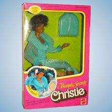NRFB 1979 Beauty Secrets Christie Doll