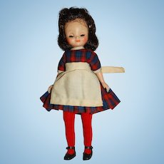 """American Character Vintage 8"""" Brunette Betsy Mc Call Doll"""